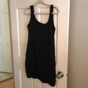 H&M basic tank dress, black